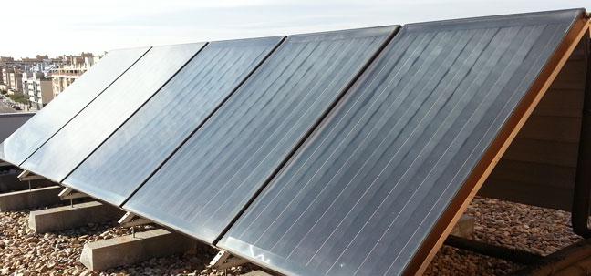 Energia solar termica en madrid instaladores - Placa solar termica ...